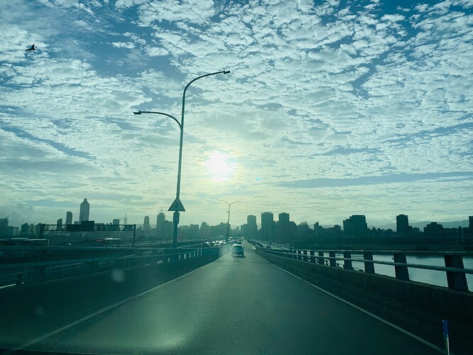 Taipei skyline on 11/16
